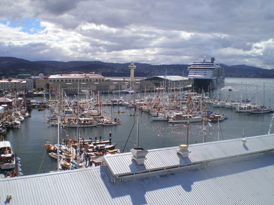 King's Pier Marina (from aloft)
