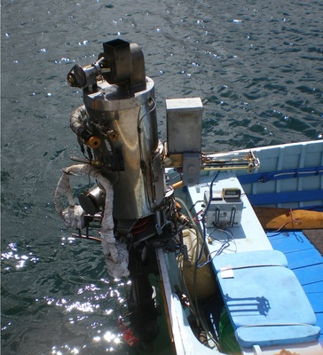 Steam-Powered Outboard